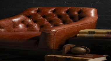 London Club - Thomas Maxwell Artisan Leather - chair, couch, furniture, hand, wood, black, brown
