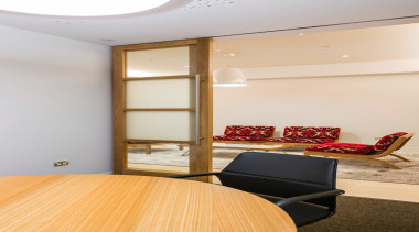 Our clients required a high quality fitout providing ceiling, floor, flooring, interior design, white