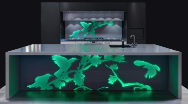 frontgreen.jpg - frontgreen.jpg - aquarium | furniture | aquarium, furniture, product, product design, table, black, teal