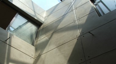 Micro Topping 26 - Micro Topping_26 - angle angle, architecture, building, daylighting, facade, glass, line, metal, sky, structure, wall, window, gray, black