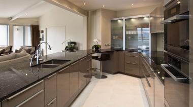 Mt Victoria Kitchen - Mt Victoria Kitchen - countertop, interior design, kitchen, property, real estate, gray, brown