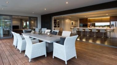 Kohi11 - dining room | floor | flooring dining room, floor, flooring, interior design, property, real estate, table, gray