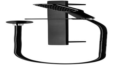 Black Edition Slide Shower SBK040 - Black Edition bathroom accessory, black and white, line, product design, white