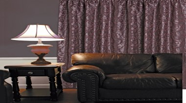 Designite Room Merlot - couch | curtain | couch, curtain, decor, furniture, home, interior design, living room, purple, table, textile, wall, wallpaper, window, window covering, window treatment, black, gray