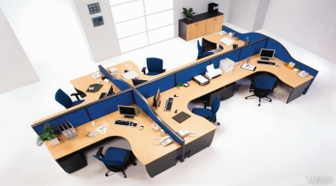 Diethelm Furniture offers a range of Varioplus workstations white