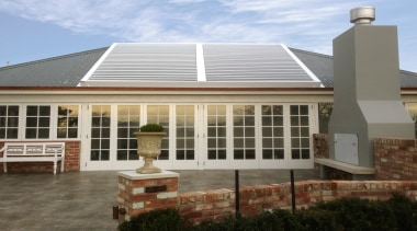 Silencio Rotating Louvres - daylighting | estate | daylighting, estate, facade, home, house, orangery, property, real estate, residential area, roof, siding, window, gray