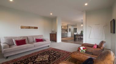 Beige and red lounge in Austin - Landmark ceiling, estate, home, interior design, living room, property, real estate, room, suite, gray