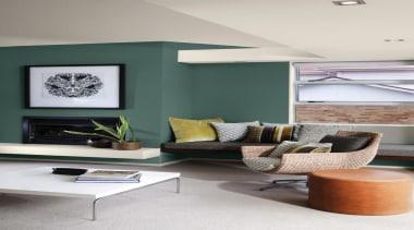 Main Living Imprint - ceiling | floor | ceiling, floor, furniture, home, interior design, living room, room, table, wall, gray