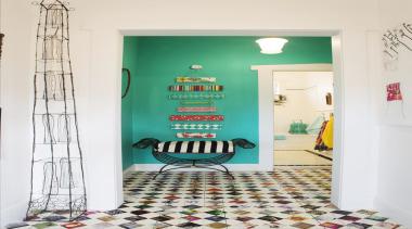 Niagara Hall - floor | interior design | floor, interior design, room, shelf, shelving, wall, white