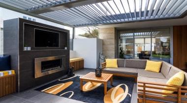 Silencio Rotating Louvres - house | interior design house, interior design, living room, real estate, gray, black