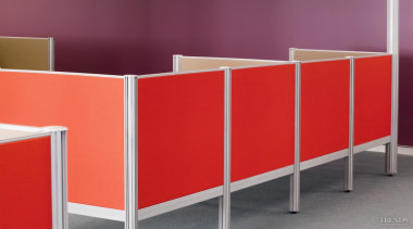 The Sydney office of match.com/Soulmates Technology opted for chest of drawers, furniture, line, product, shelf, sideboard, table, red