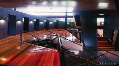 When used to remove paint from timber, Polystrippa architecture, ceiling, glass, interior design, lighting, lobby, stairs, black
