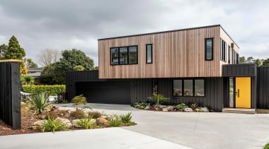 The 220m² home was conceptualised as a floating