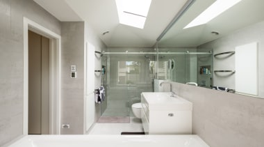 CAAHT Studio Architects – Highly Commended – TIDA architecture, bathroom, home, house, interior design, property, real estate, room, gray