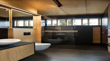 Strachan Group Architects – Highly Commended – TIDA architecture, bathroom, floor, interior design, black, brown