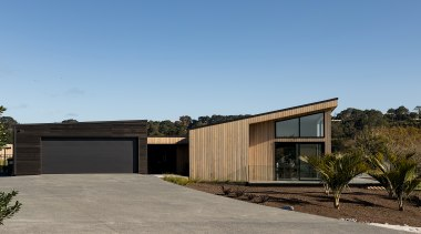Michael Cooper Architects – Highly Commended – 2019 architecture, building, concrete, design, estate, facade, home, house, land lot, landscape, property, real estate, residential area, roof, tree, teal