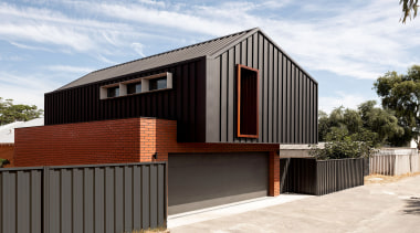 Dalecki Design – Runner-up – 2019 TIDA Australia architecture, building, design, facade, home, house, material property, property, real estate, residential area, roof, room, siding, tree, wood, white
