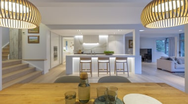 Highly Commended – Du Bois Design – 2019 architecture, building, ceiling, design, estate, floor, flooring, furniture, hardwood, home, house, interior design, living room, lobby, property, real estate, room, table, gray