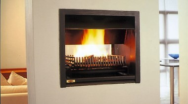 interior view of a fireplace - interior view fireplace, hearth, heat, home appliance, wood burning stove, orange