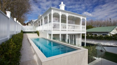 0149184 - architecture | building | design | architecture, building, design, estate, facade, home, house, interior design, leisure, mansion, property, real estate, reflecting pool, residential area, room, swimming pool, villa, gray