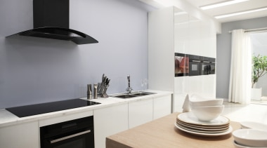 Midea Appliances models are now available in New countertop, home appliance, interior design, kitchen, product design, white, gray
