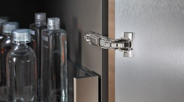CLIP top BLUMOTION - Hinge System - cylinder cylinder, fluid, glass, room, water, gray, black
