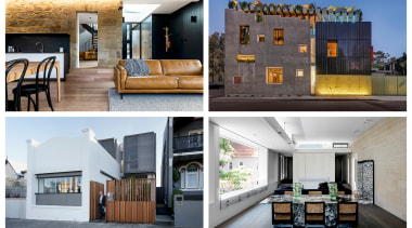 2019 AU TIDA Homes mixed Finalists - apartment apartment, architecture, building, condominium, design, estate, facade, floor, home, house, interior design, property, real estate, room, white