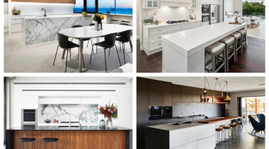2019 AU TIDA Kitchen winners pic - building building, cabinetry, countertop, cuisine classique, floor, flooring, furniture, home, house, interior design, kitchen, material property, product, property, room, table, tile, white