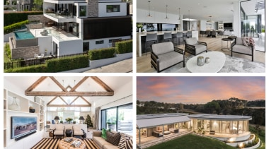 2019 TIDA Homes mixed Finalists 2 - architecture architecture, building, condominium, estate, home, house, interior design, mansion, project, property, real estate, residential area, roof, room, urban design, white, gray