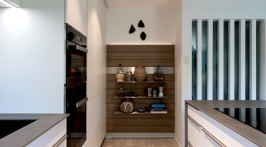 The request for display surfaces brought opportunity for architecture, building, cabinetry, ceiling, countertop, floor, flooring, furniture, hall, hardwood, home, house, interior design, property, real estate, room, shelf, stairs, wall, wood, wood flooring, gray