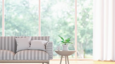 50436_hitachi-heat-pumps_1562198975 - couch | curtain | floor | couch, curtain, floor, furniture, green, home, interior design, leaf, living room, pink, plant, room, table, textile, tree, white, window, window covering, window treatment, yellow, white