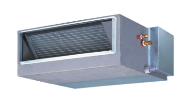Hitachi Ducted Split SystemsFeaturing a lightweight, flexible and product, window, white, gray