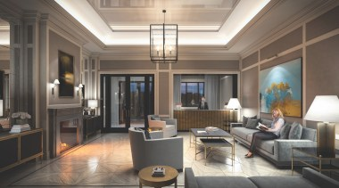 4 The Kingsway – interior lobby - Fit