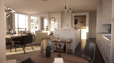 4 The Kingsway – living room - Fit