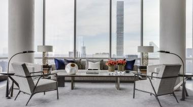 Grand affair – Promemoria sofas and metallic sidetables