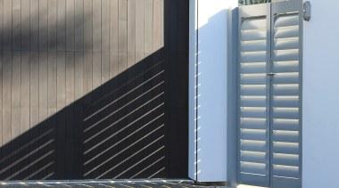 78580_louvretec-new-zealand-ltd_1556758041 - architecture | blue | composite material architecture, blue, composite material, daylighting, door, facade, gate, line, wall, window, gray, black