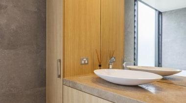 Bathroom Vanity 2 bathroom, bathroom accessory, bathroom cabinet, cabinetry, floor, interior design, room, sink, wall, gray
