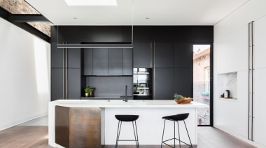 Bijl Architecture – Highly Commended – 2018 TIDA architecture, cabinetry, countertop, floor, interior design, kitchen, white