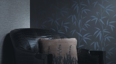 Bring Nature Indoors - black | couch | black, couch, darkness, interior design, light, wall, wallpaper, black