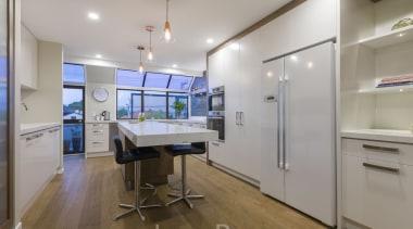 St Heliers III - ceiling | floor | ceiling, floor, interior design, kitchen, real estate, gray