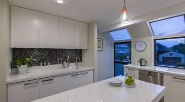 St Heliers III - countertop | cuisine classique countertop, cuisine classique, interior design, kitchen, property, real estate, room, gray