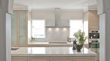 Remuera - cabinetry | ceiling | countertop | cabinetry, ceiling, countertop, cuisine classique, home, interior design, kitchen, room, window, gray