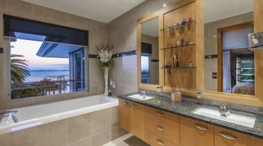 Bathroom Vanities - bathroom | countertop | estate bathroom, countertop, estate, home, interior design, kitchen, property, real estate, room, window, gray, brown