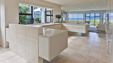 Pauanui - countertop | floor | flooring | countertop, floor, flooring, interior design, kitchen, property, real estate, tile, gray