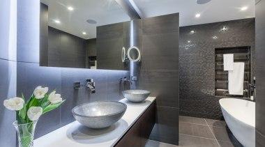 Bathroom Vanities - architecture | bathroom | interior architecture, bathroom, interior design, public toilet, real estate, room, sink, gray