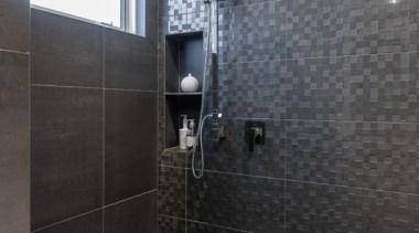 Bathroom Vanities - architecture | bathroom | floor architecture, bathroom, floor, flooring, interior design, plumbing fixture, room, tile, wall, gray, black