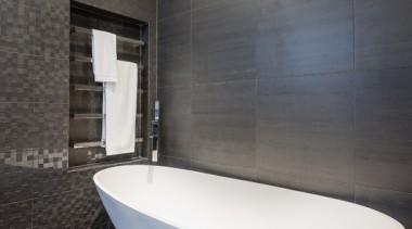 Bathroom Vanities - architecture | bathroom | floor architecture, bathroom, floor, flooring, interior design, plumbing fixture, room, tile, toilet seat, wall, gray, black