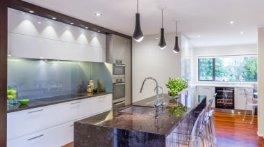 St. Johns - countertop | home | interior countertop, home, interior design, kitchen, real estate, room, gray