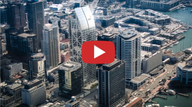 Commercial Bay Auckland video button -