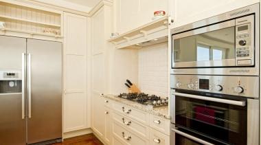 Howick - cabinetry | countertop | cuisine classique cabinetry, countertop, cuisine classique, floor, home appliance, interior design, kitchen, kitchen appliance, real estate, room, orange